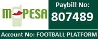 M-pesa Paybill Number